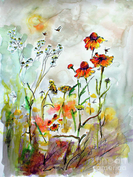 Painting - Wildflower Gathering #2 by Ginette Callaway