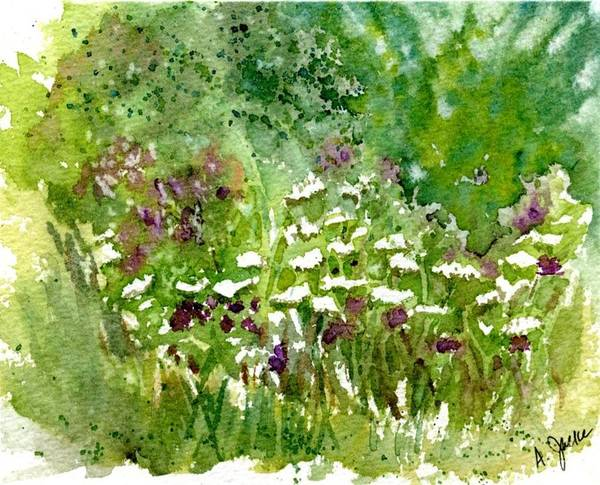 Painting - Wildflower Meadow by Anna Jacke