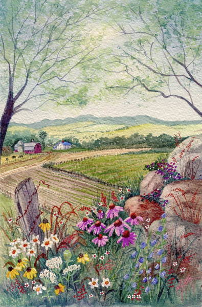 Painting - Wildflower Ridge by Marilyn Smith