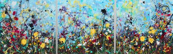 Wall Art - Painting - Wildflowers by Angie Wright