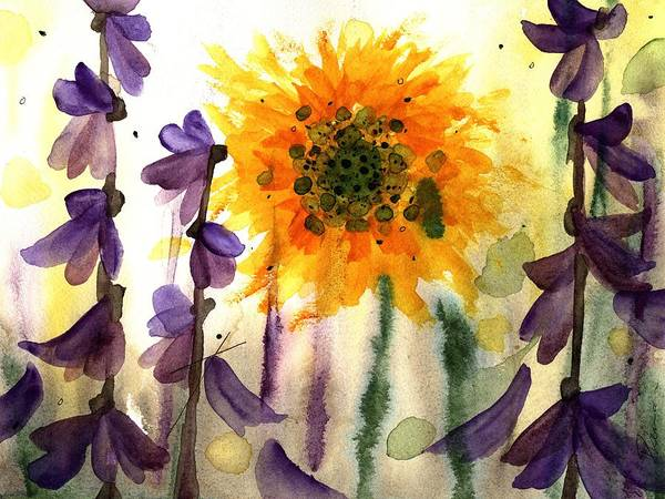 Painting - Wildflowers by Dawn Derman