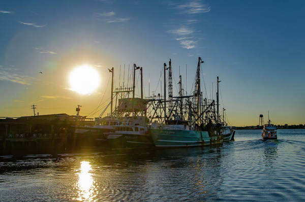 Wall Art - Photograph - Wildwood Crest Fishing Boats At Sunrise by Bill Cannon