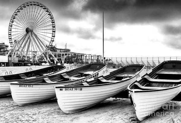 Wall Art - Photograph - Wildwood Lifeguard Boats 2008 by John Rizzuto