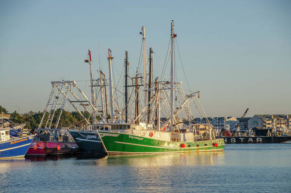 Wall Art - Photograph - Wildwood New Jersey Fishing Boats by Bill Cannon