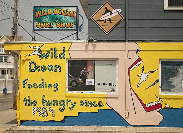 Photograph - Wildwood Wild Ocean Surf Shop by Kristia Adams