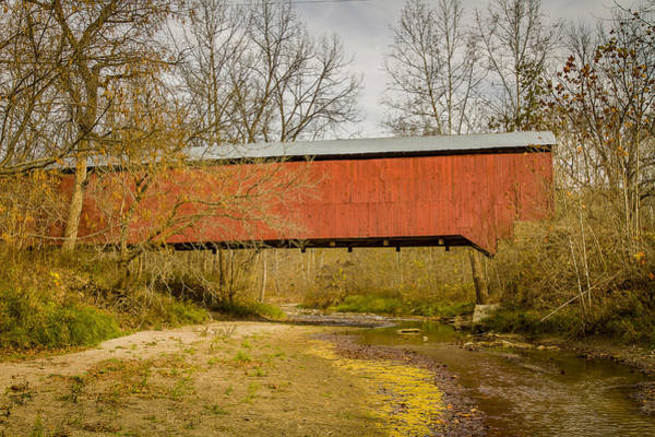 Photograph - Wilkins Mill Covered Bridge by Jack R Perry