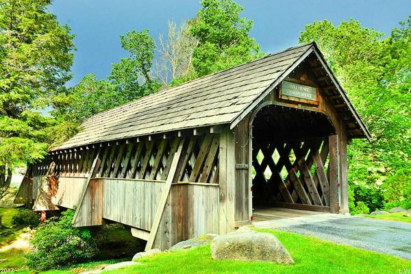 Photograph - Will Henry Stevens Covered Bridge by Lisa Wooten