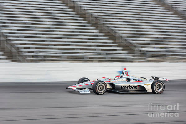 Photograph - Will Power #12 2 by Paul Quinn