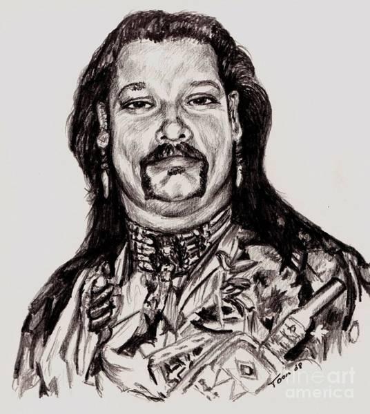 Drawing - Will Sherman Jr. by Toon De Zwart