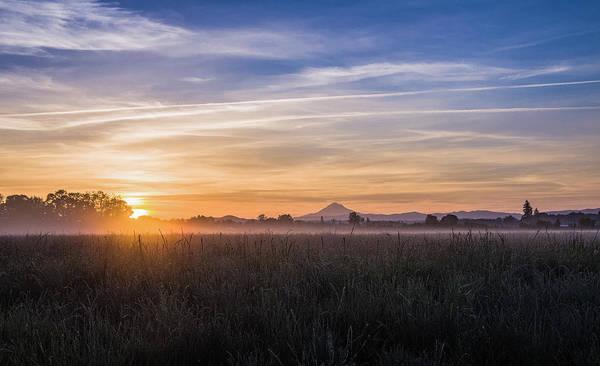 Willamette Valley Sunrise Art Print