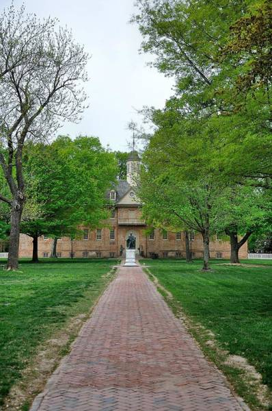William And Mary Photograph - William And Mary 1 by Todd Hostetter