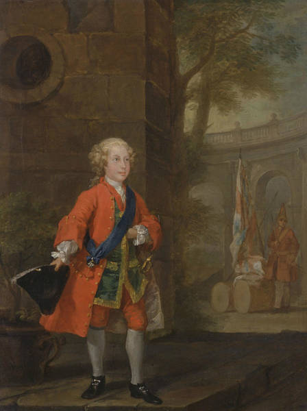 Painting - William Augustus, Duke Of Cumberland by William Hogarth