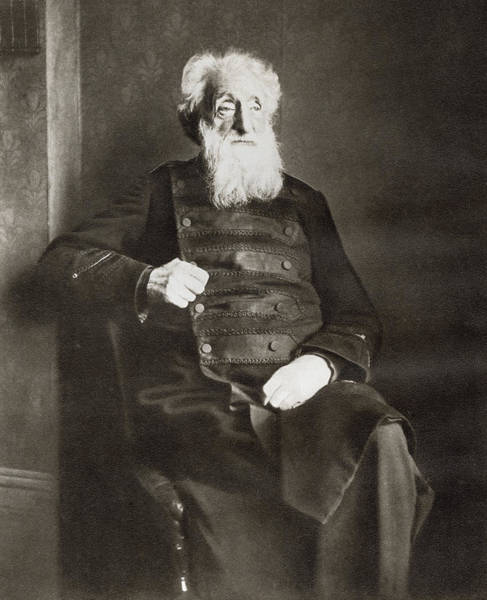 Wall Art - Drawing - William Booth, 1829 by Vintage Design Pics