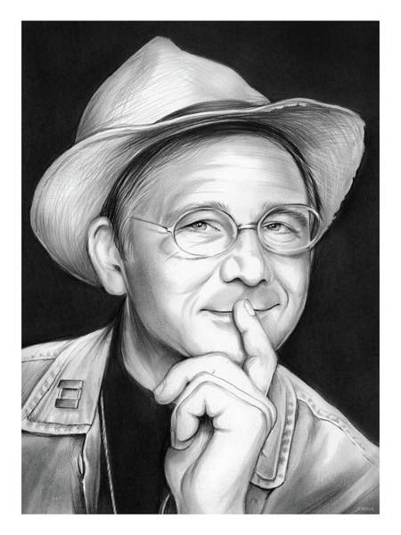 Drawing - William Christopher by Greg Joens