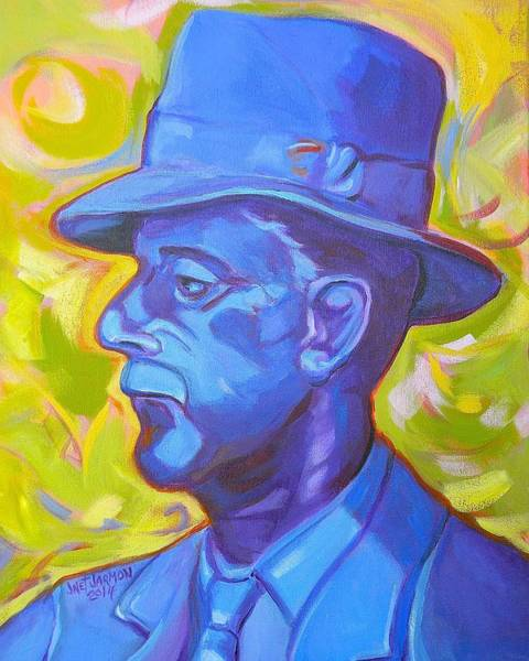 Painting - William Faulkner by Jeanette Jarmon