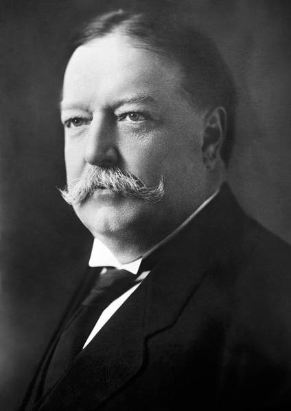 Wall Art - Photograph - William Howard Taft Portrait - 1908 by War Is Hell Store