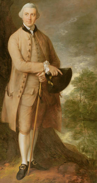 Wall Art - Painting - William Johnstone Pulteney by Thomas Gainsborough