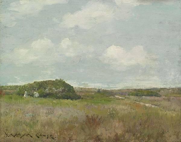 Painting - William Merritt Chase 1849 - 1916 Shinnecock by Artistic Panda