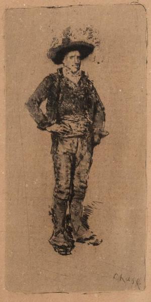 Painting - William Merritt Chase American 1849  1916 The Spanish Peasant by Artistic Panda