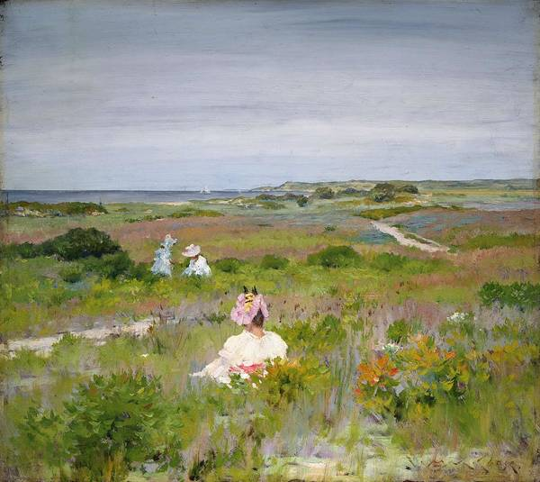 Painting - William Merritt Chase   Shinnecock   Long  Island  C 1896  by Artistic Panda