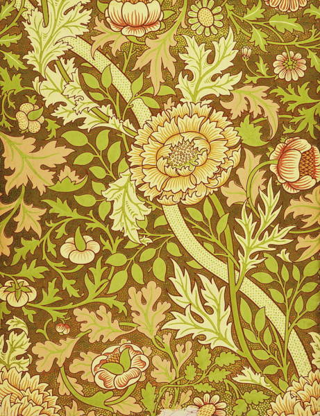 Wall Art - Painting - William Morris Design by William Morris