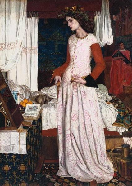 Painting - William Morris,  La Belle Iseult  1858 by Artistic Panda