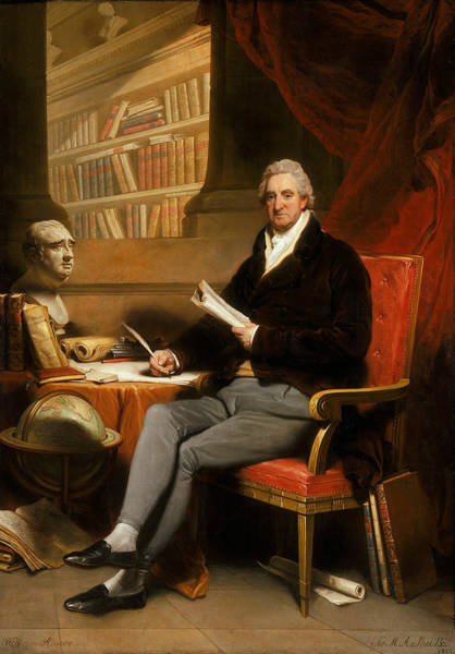 Painting - William Roscoe by Martin Archer Shee