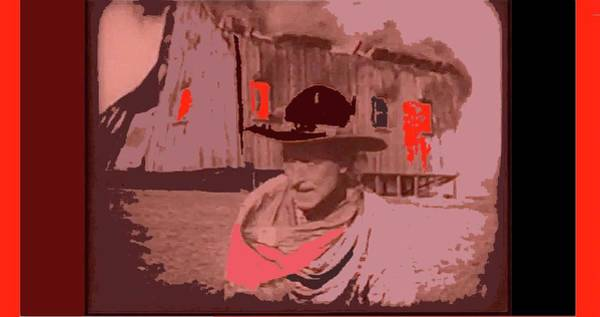 Photograph -   William S. Hart Screen Capture Hell's Hinges 1916-2012 by David Lee Guss