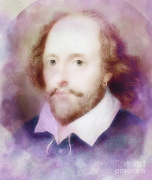 Wall Art - Painting - William Shakespeare by John Springfield