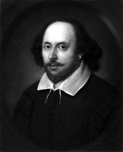 Shakespeare Wall Art - Drawing - William Shakespeare by War Is Hell Store