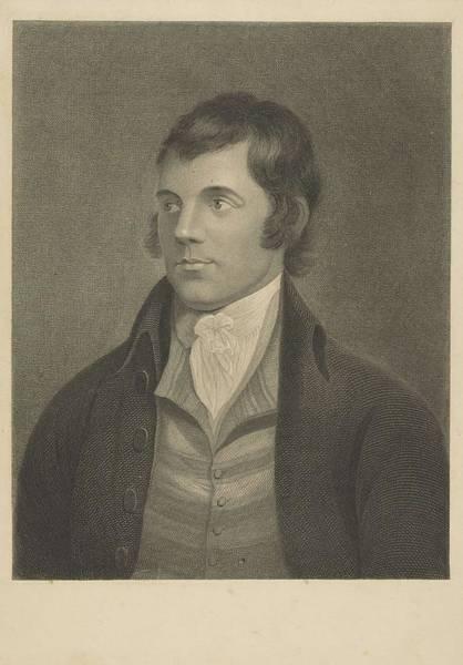 Painting - William Thomas   Fry Robert Burns, 1759 - 1796. Poet 3 by Artistic Panda