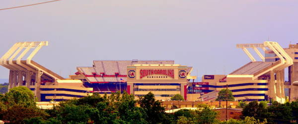 Photograph - Williams-bryce Stadium 2 by Lisa Wooten