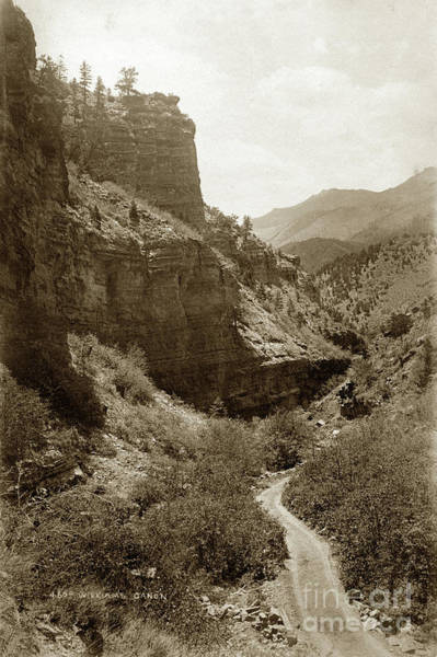 Photograph - William's Canon, Colorado No. 466 by California Views Archives Mr Pat Hathaway Archives