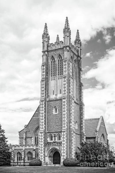 Williams College Thompson Memorial Chapel Art Print