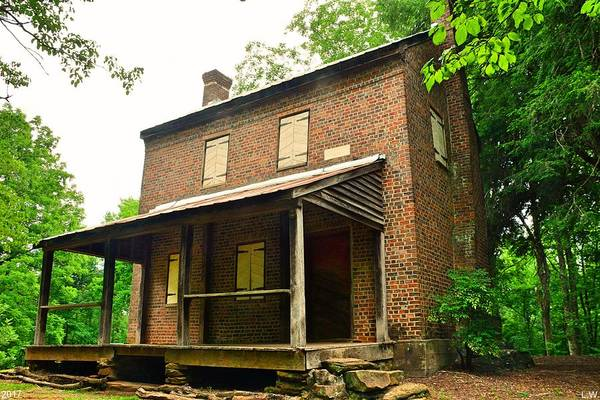 Photograph - Williams Richards House Oconee Station by Lisa Wooten