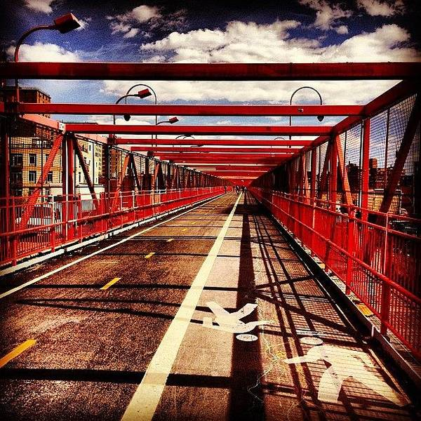 Wall Art - Photograph - Williamsburg Bridge - New York City by Vivienne Gucwa