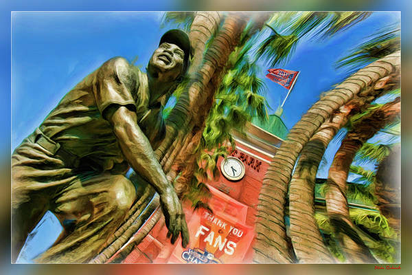 Photograph - Willie Mays  by Blake Richards