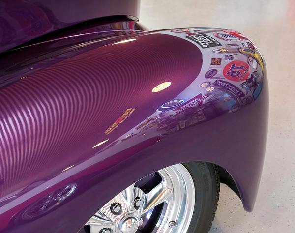 Photograph - Willy's Fender by Jeanne May