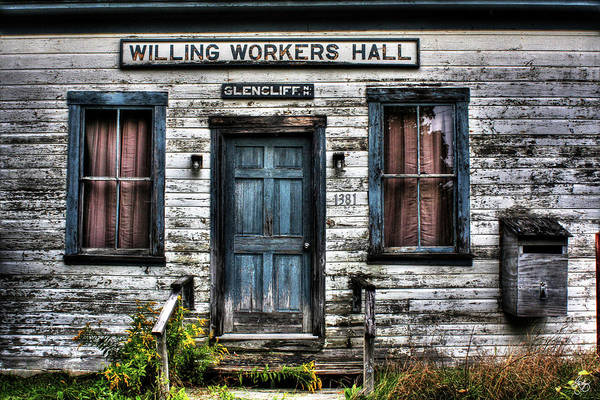 Photograph - Willing Workers Enter Here by Wayne King