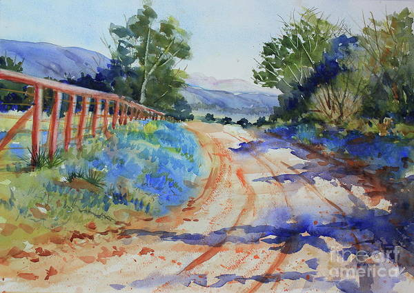 Central Texas Painting - Willow City Loop by Marsha Reeves