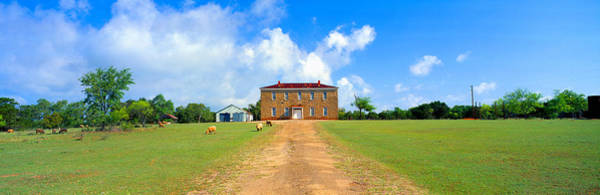 Fredericksburg Wall Art - Photograph - Willow City School From 1904 by Panoramic Images