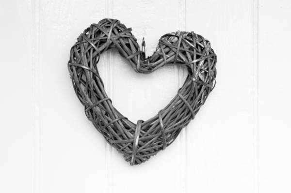 Photograph - Willow Heart by Helen Northcott