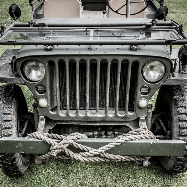 Off-road Vehicles Photograph - Willy's Jeep 01 by Richard Nixon