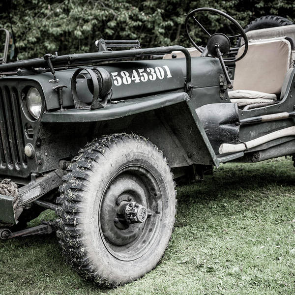 Off-road Vehicles Photograph - Willy's Jeep 02 by Richard Nixon