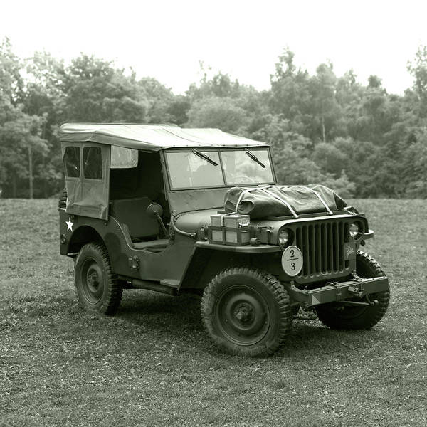 Off-road Vehicles Photograph - Willy's Jeep 03 by Richard Nixon