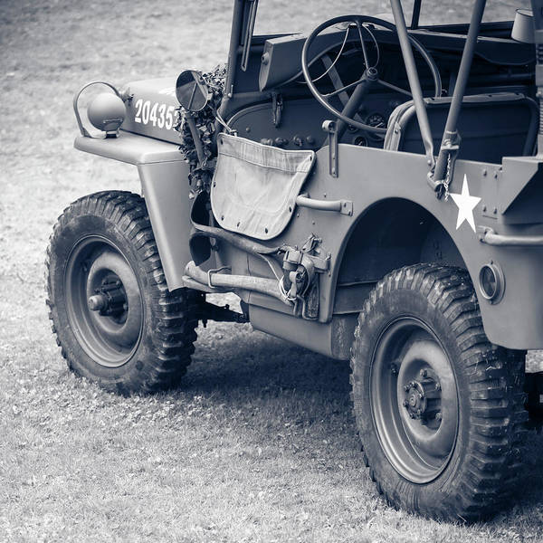 Off-road Vehicles Photograph - Willy's Jeep 04 by Richard Nixon