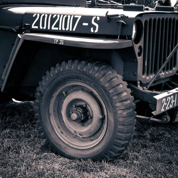 Off-road Vehicles Photograph - Willy's Jeep 05 by Richard Nixon