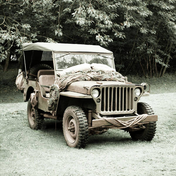 Off-road Vehicles Photograph - Willy's Jeep 06 by Richard Nixon