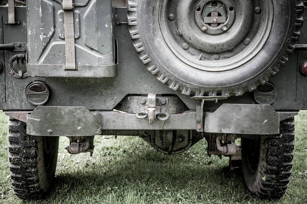 Off-road Vehicles Photograph - Willy's Jeep 07 by Richard Nixon