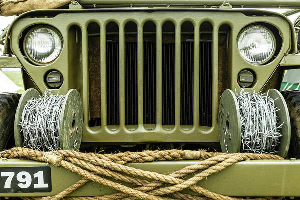 Off-road Vehicles Photograph - Willy's Jeep 08 by Richard Nixon